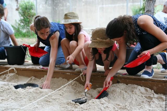 Atelier Petit archéologue