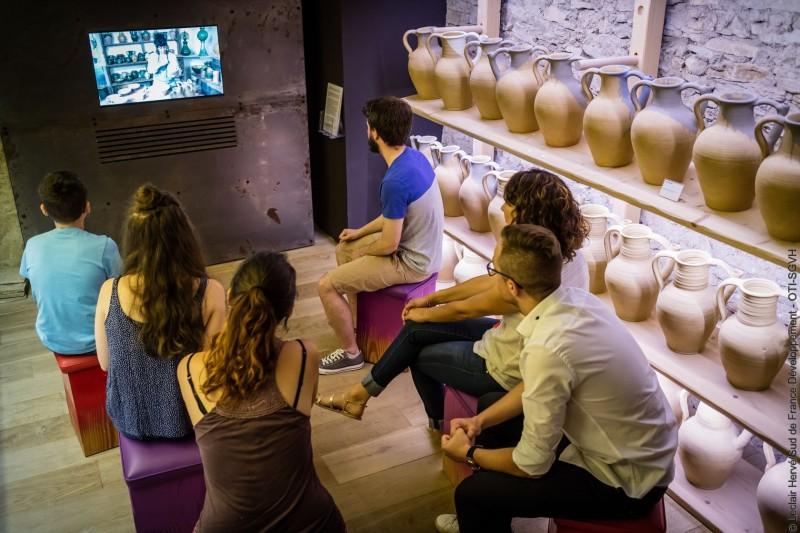 Visite du Musée Argileum à Saint Jean de Fos